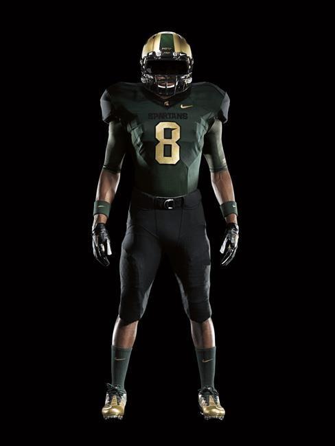 Michigan State Nike Pro Combat Uniforms Nike Pro Combat Combat Uniforms Nike Pros