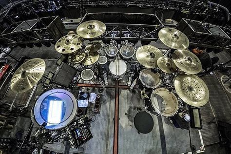 """133 Likes, 1 Comments - Drums Inc. (@drums_inc) on Instagram: """"Sick kit from Christoph Schneider of Rammstein! #pearl #dwdrums #tama #sabian #zildjian #paiste…"""""""