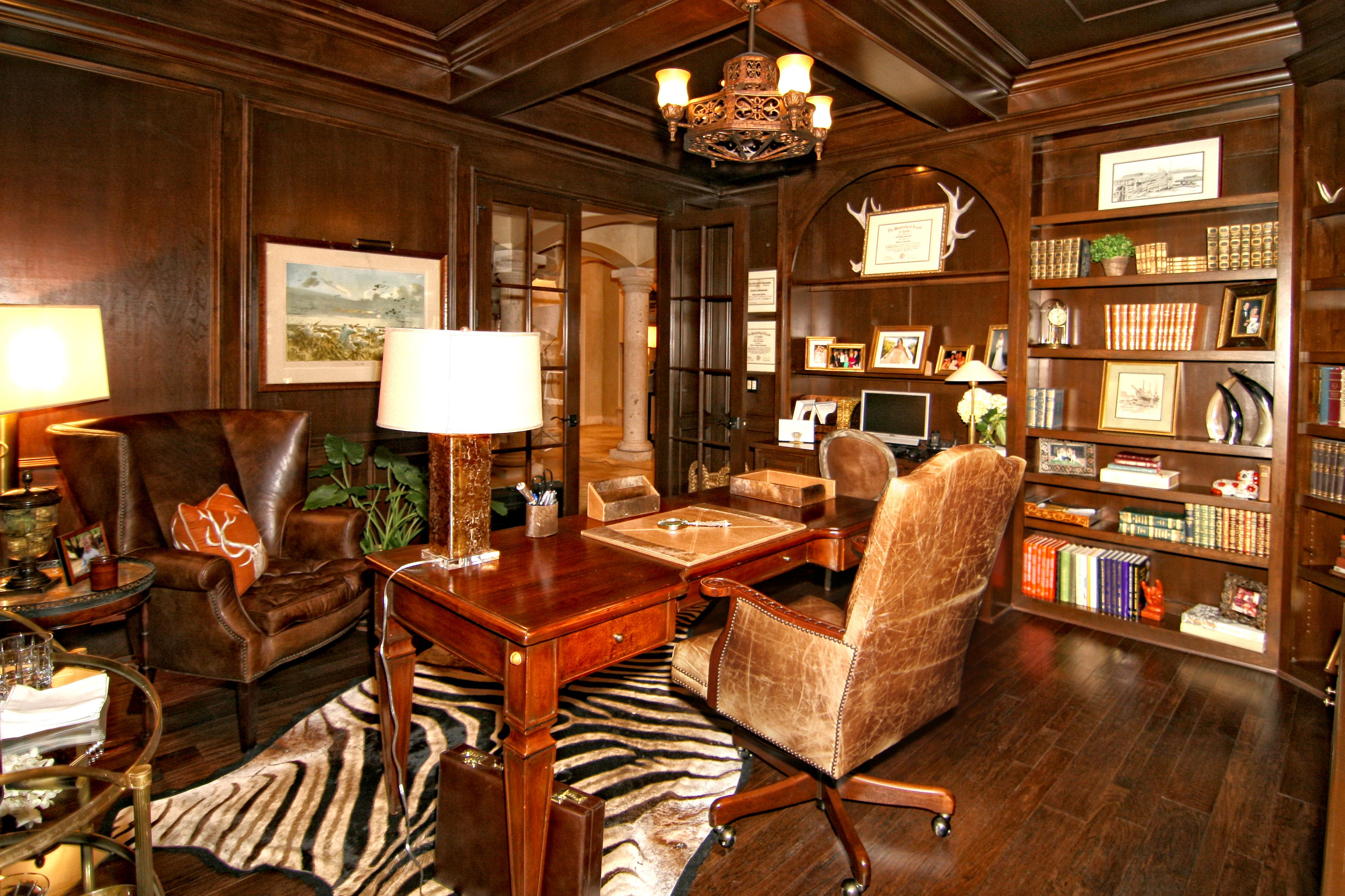 Horseshoe Bay Eclectic Home Office By Zbranek & Holt