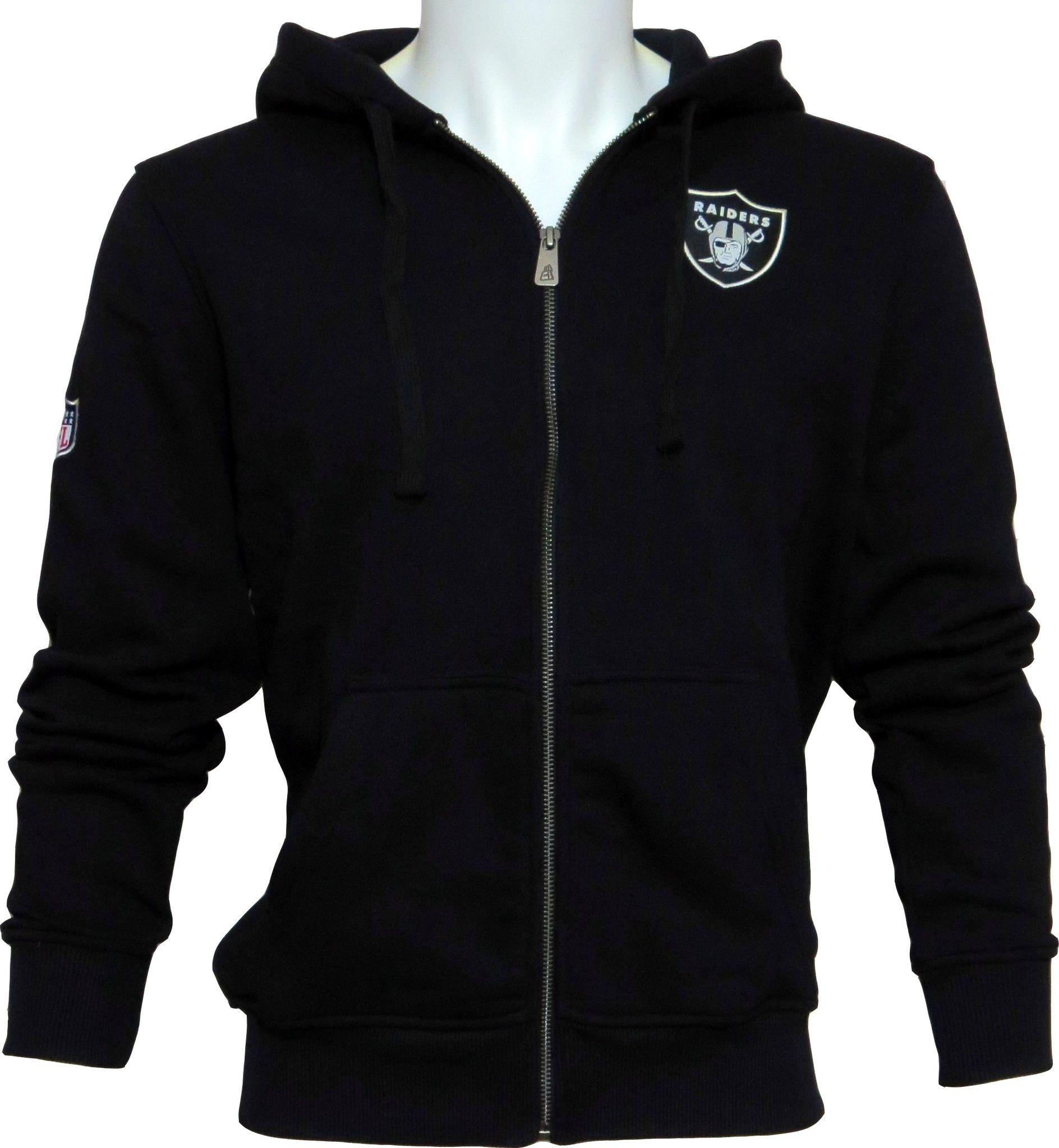 promo code f1847 b2331 Oakland Raiders New Era NFL Zip Up Hooded Team Track Top ...