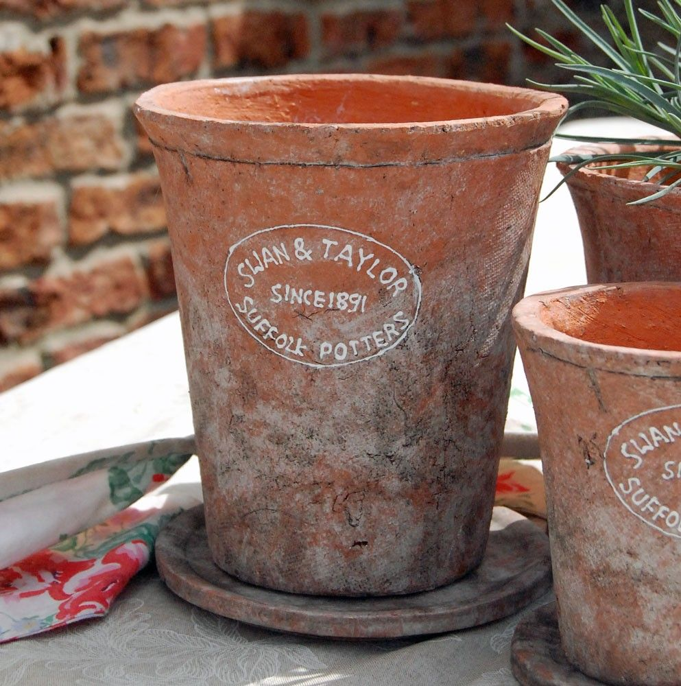 Terracotta Pots Planted   Google Search