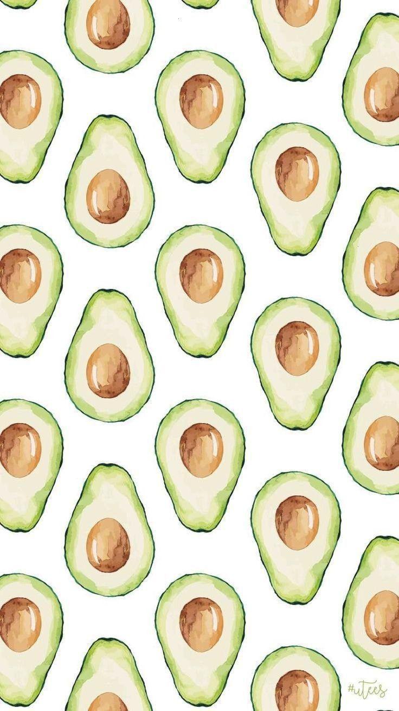 der Avocado mag, kann dies für seinen Hint... - - Fotowand -Jeder, der Avocado mag, kann dies für