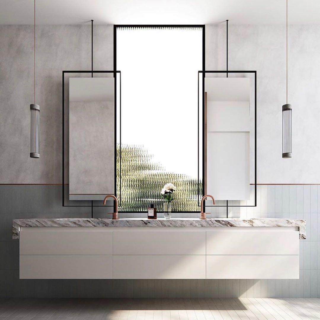 Melanie Morris Interiors V Instagram Mmi Inspiration Bathroom Vanity Designed By Mimdesignstudio Mim Design Beautiful Bathrooms Bathroom Vanity Designs [ jpg ]