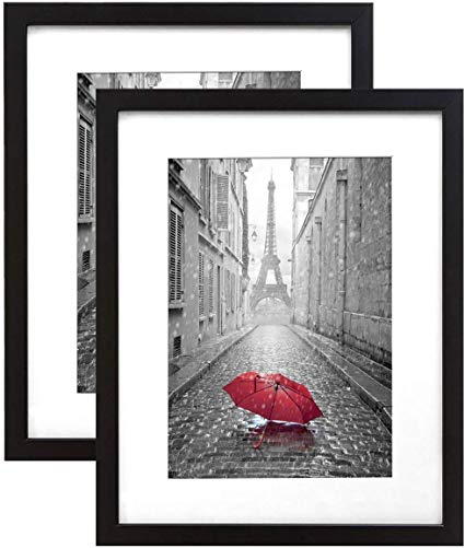 Amazon Com 9x12 Inch Black Frame Made To Display Pictures 6x8 Inches With Matte Or 9x12 Inches Withou Picture Frame Display Picture Frame Sets Frame Display