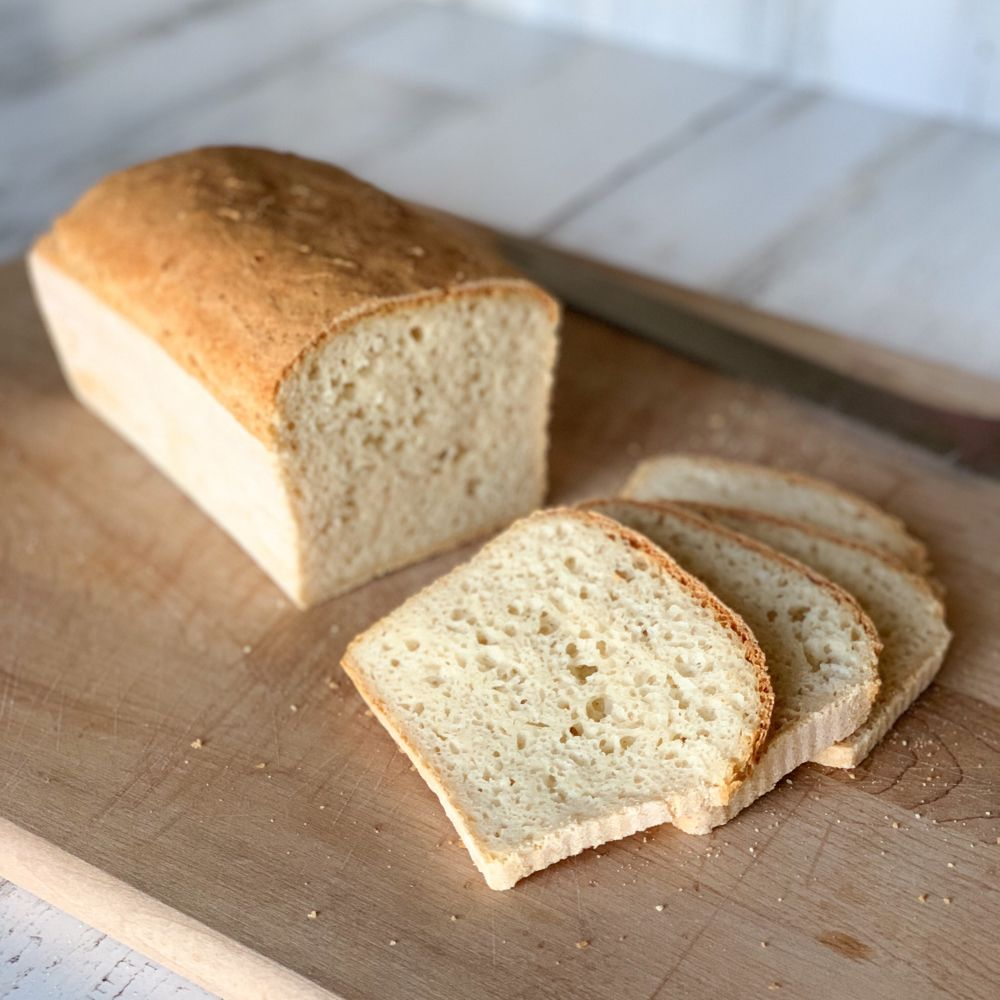 Tall Fluffy Gluten Free Vegan White Sandwich Bread Recipe Bread Baking Gluten Free Sandwiches Gluten Free Bread