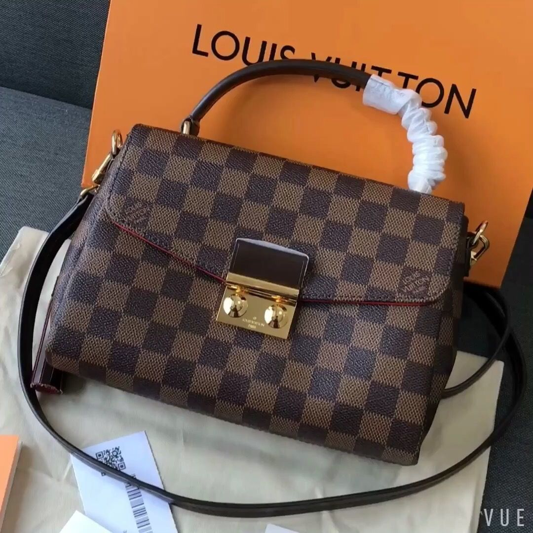 5903286f3a8 Louis Vuitton lv croisette bag original leather | Happening Hanbags ...