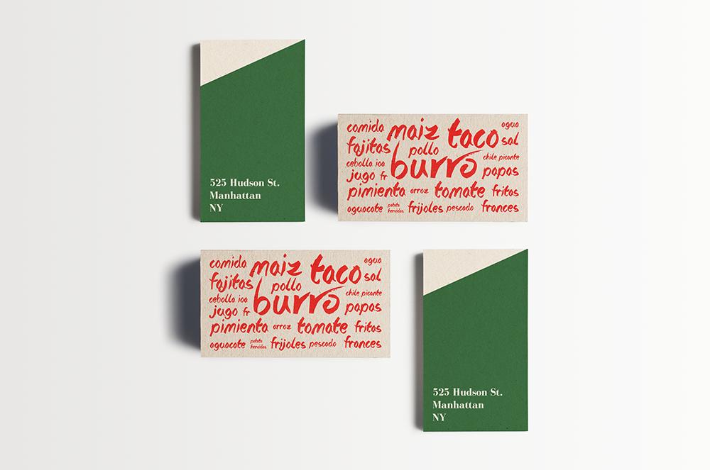 25 Restaurant Business Cards Designs | MOOD // Vesuvio | Pinterest ...
