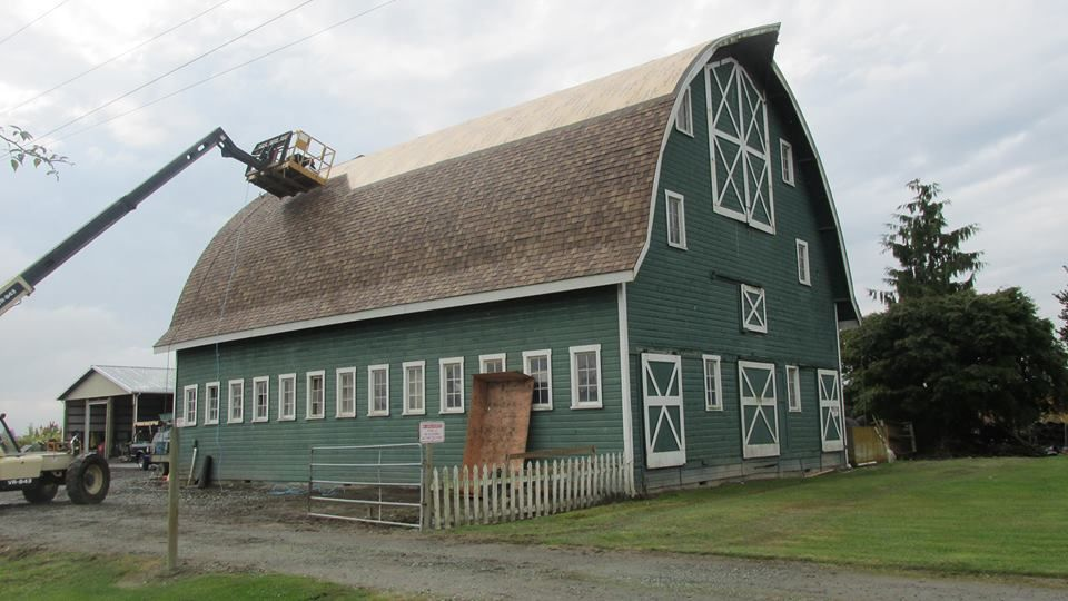 We Love Re Roofing Big Barns. Hereu0027s One Weu0027re Working On Now