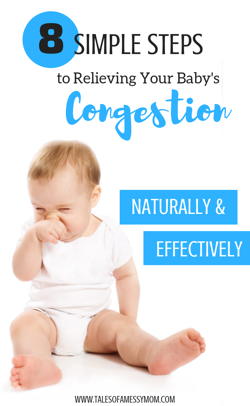 How To Relieve Your Baby S Congestion Naturally Amp Effectively