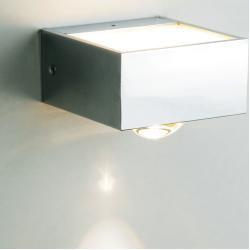 Top Light Focus 100 Wandleuchte, Led, nickel matt Top Light #smalllivingspaces