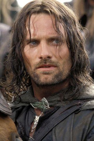 lord of the rings �viggo mortensenaragorn silver screen
