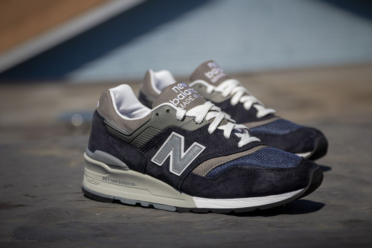 New Balance 997 Navy / Grey New