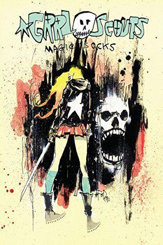 GRRL Scouts Magic Socks by Jim Mahfood comics shopping list