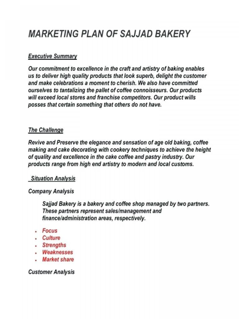 011 Template Ideas Simple Retail Business Plan Word Good