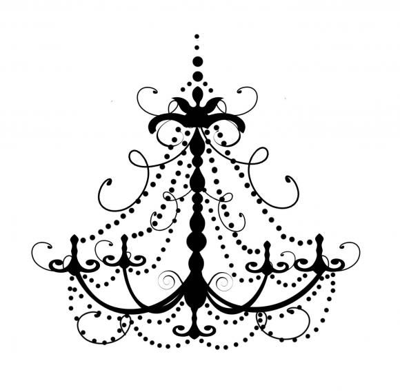 Love chandelier decals things i like pinterest love chandelier decals aloadofball Choice Image