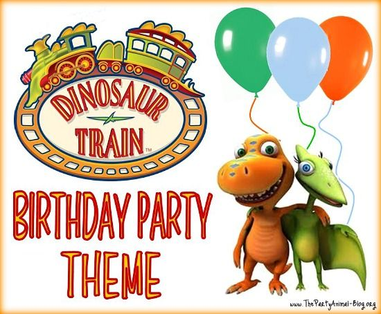 Dinosaur Train Birthday Party Theme games cake cupcakes and