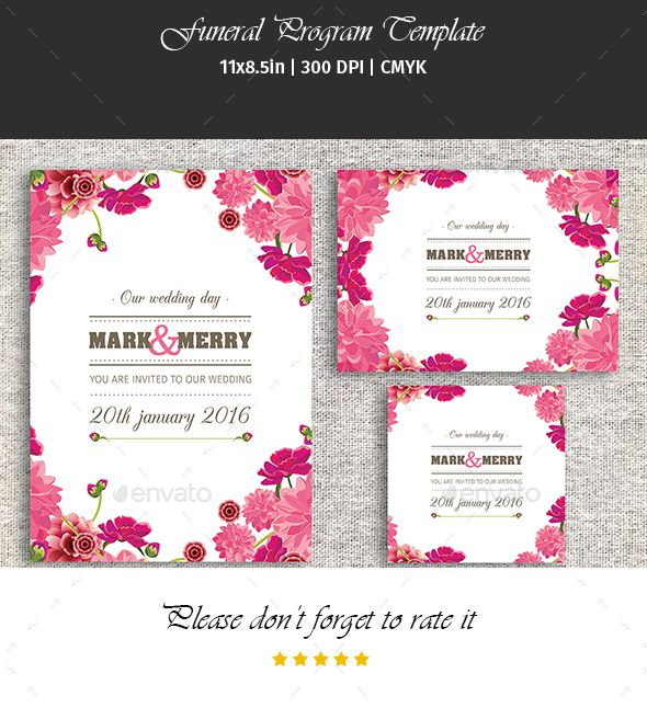 Wedding Invitation Card Template Digital
