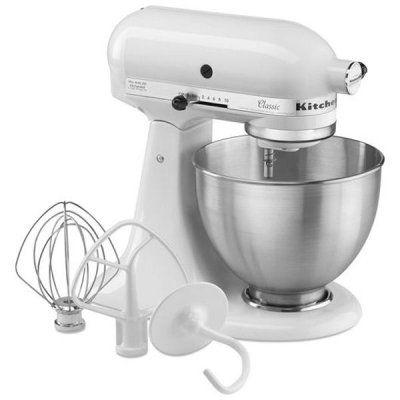 Amazonde KitchenAid Classic nur in Weiss inkl Bonus 2   - kitchenaid küchenmaschine artisan rot