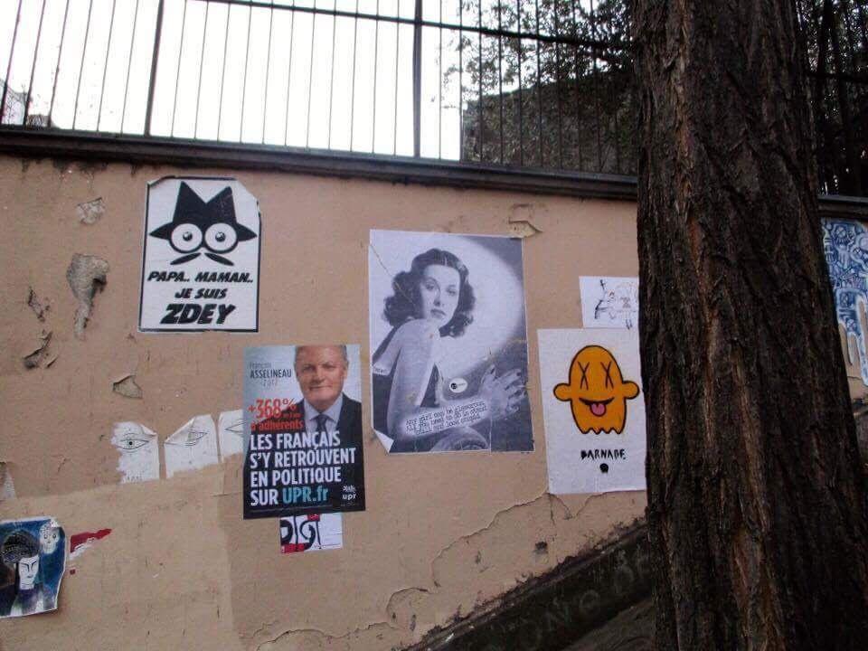 Hedy Lamarr Paris Montmartre