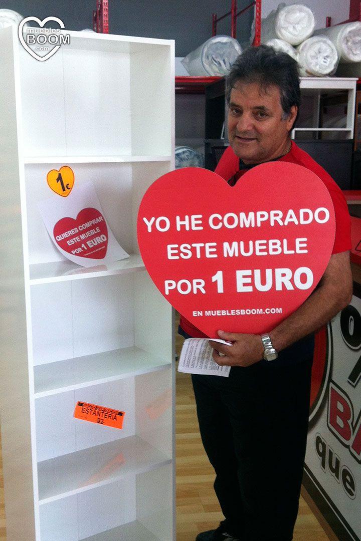 Gran Promocion De Muebles A 1 Euro De Muebles Boom En Madrid