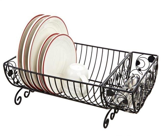 Metal Scrolled Dish Rack Emerge Home Decor Scott S