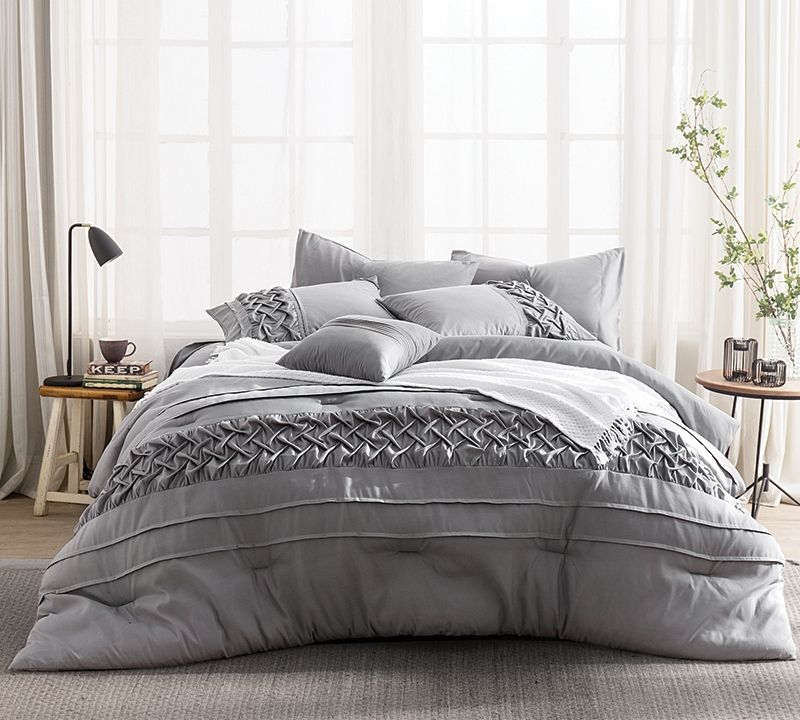 Tempo King Comforter Bed Linens Textured Comforters