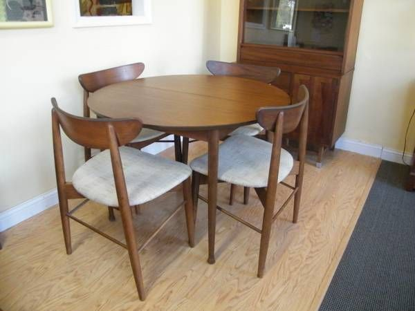 stanley dining room furniture | Mid Century Stanley Dinning set | Shabby chic dining room ...