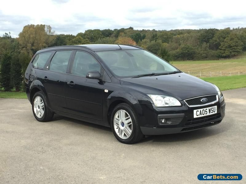2005 Ford Focus Ghia Estate Black No Reserve Spares Or Repair