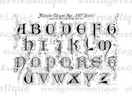 medieval press font decorative first letter - Google Search