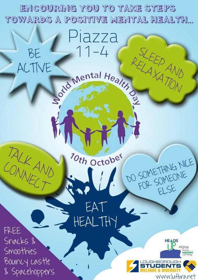 World Mental Health Day Mental health day, Mental health