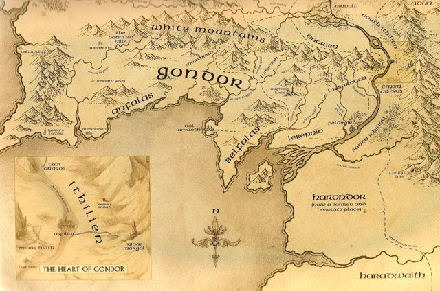 explore fantasy map the hobbit and more