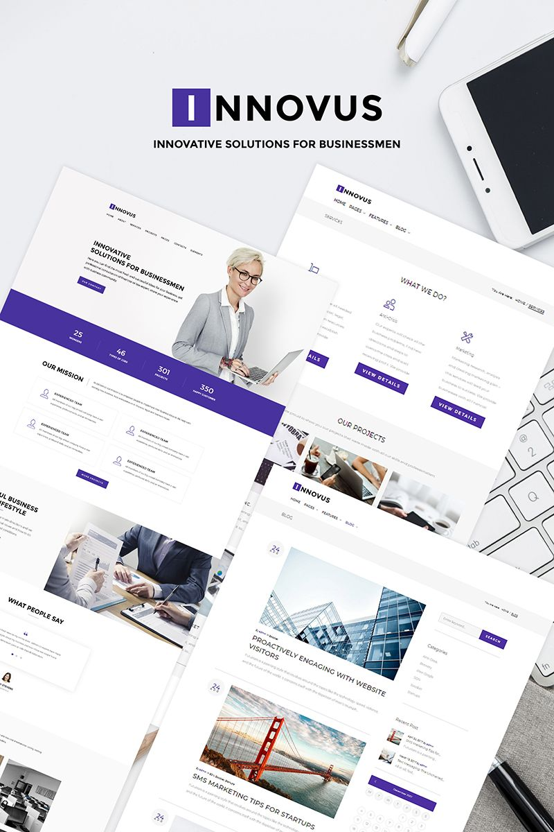 Innovus business wordpress theme new website templates get innovus business wordpress theme the convenient built in control panel for administrator allows you to instantly give the original appearance to the fbccfo Image collections
