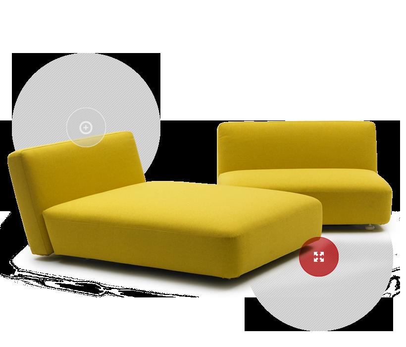 Divani e divani letto Campeggi s.r.l. | Full of ...ideas nel 2019 ...
