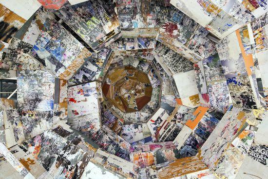 Belltower (detail), 2014 Mixed Media 792.5 x 914.4 cm / 312 x 360 in