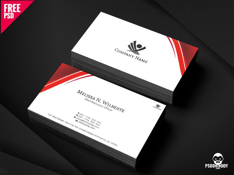 Corporate Business Cards Design Free Psd Free Business Card Design Corporate Business Card Corporate Business Card Design