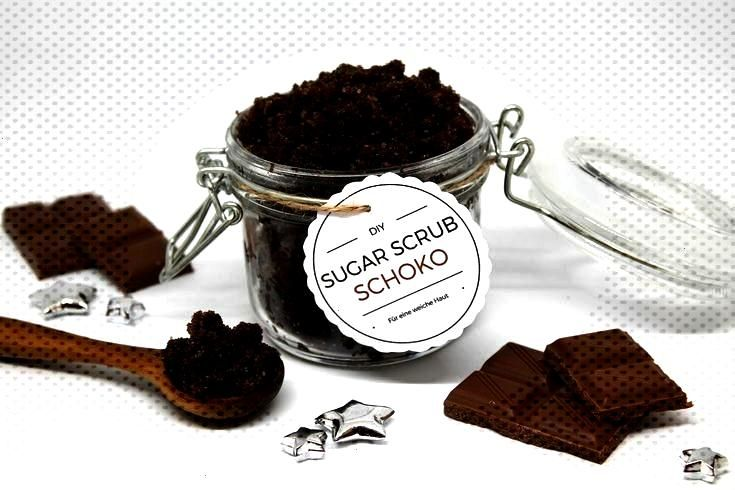Sugar Scrub Zuckerpeeling Schoko einfach selber machen , DIY Sugar Scrub Zuckerpeeling Schoko einf