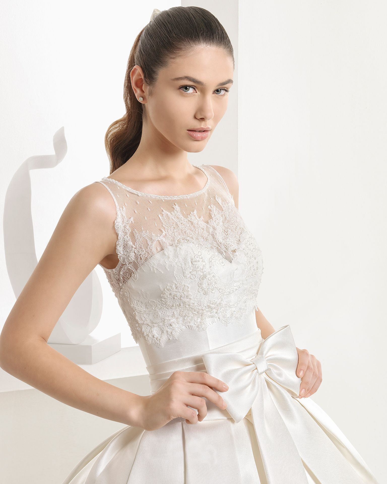Add on sleeves for wedding dresses  ENEBRO   Bridal Collection Rosa Clará Collection  Princess
