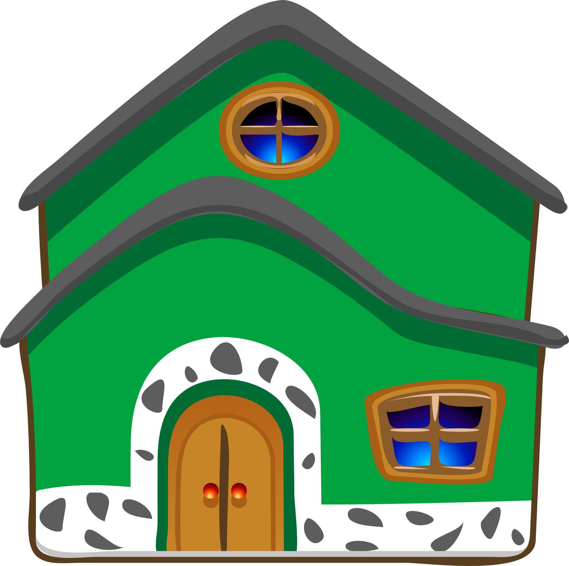 Gambar kartun rumah rumah pinterest modern for Modern house clipart