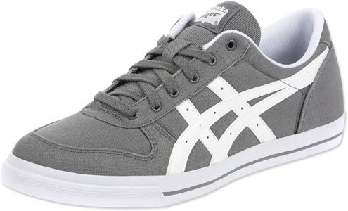 asics tiger aaron cv shoes grey white  shoes business