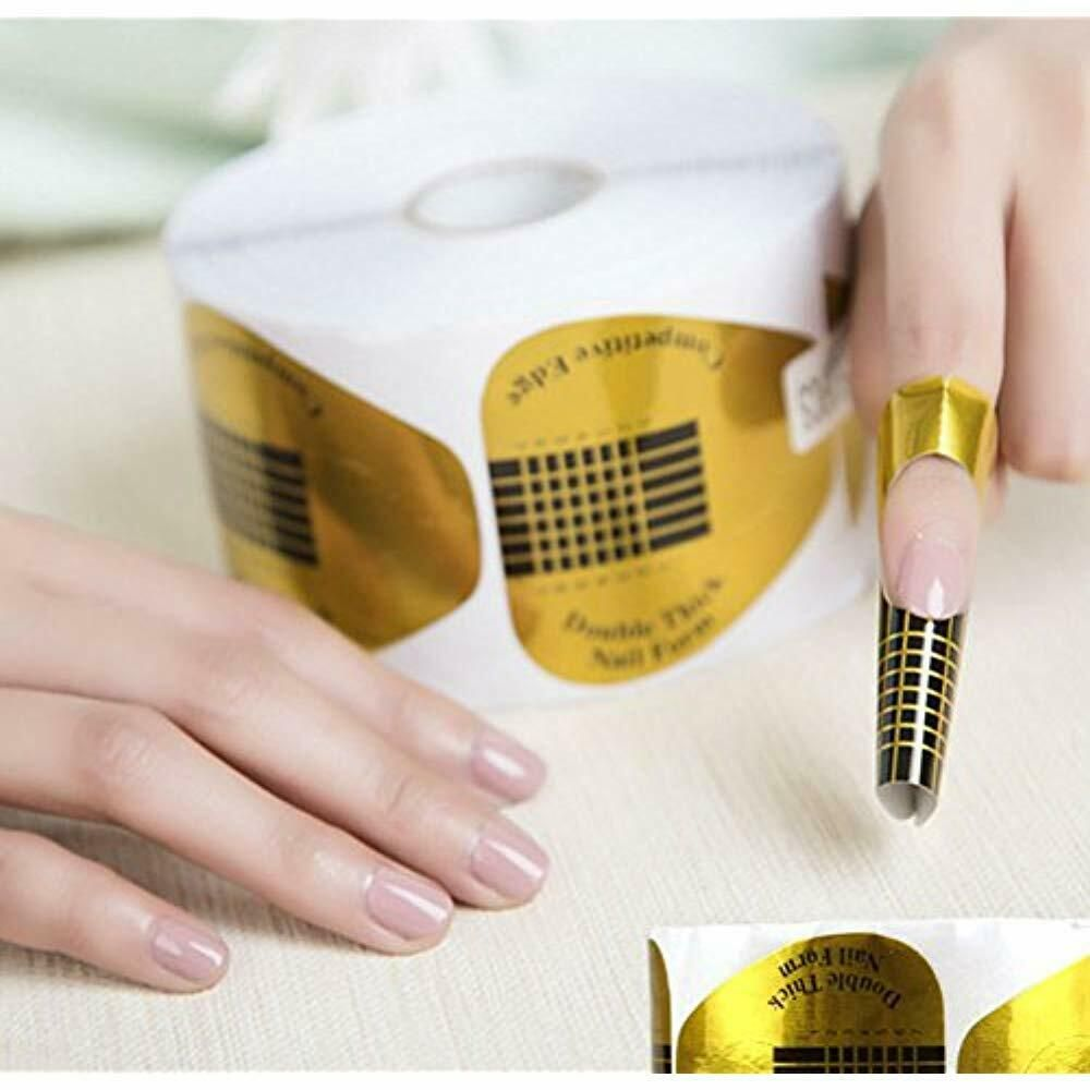Nail Art Equipment Akoak 100 Pieces Horseshoe Shaped Acrylic Uv Gel Extention Uv Gel Nails Nail Art Hacks Gel Manicure Diy