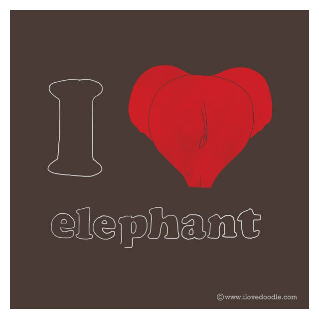 I Heart Elephant | Flickr : partage de photos !