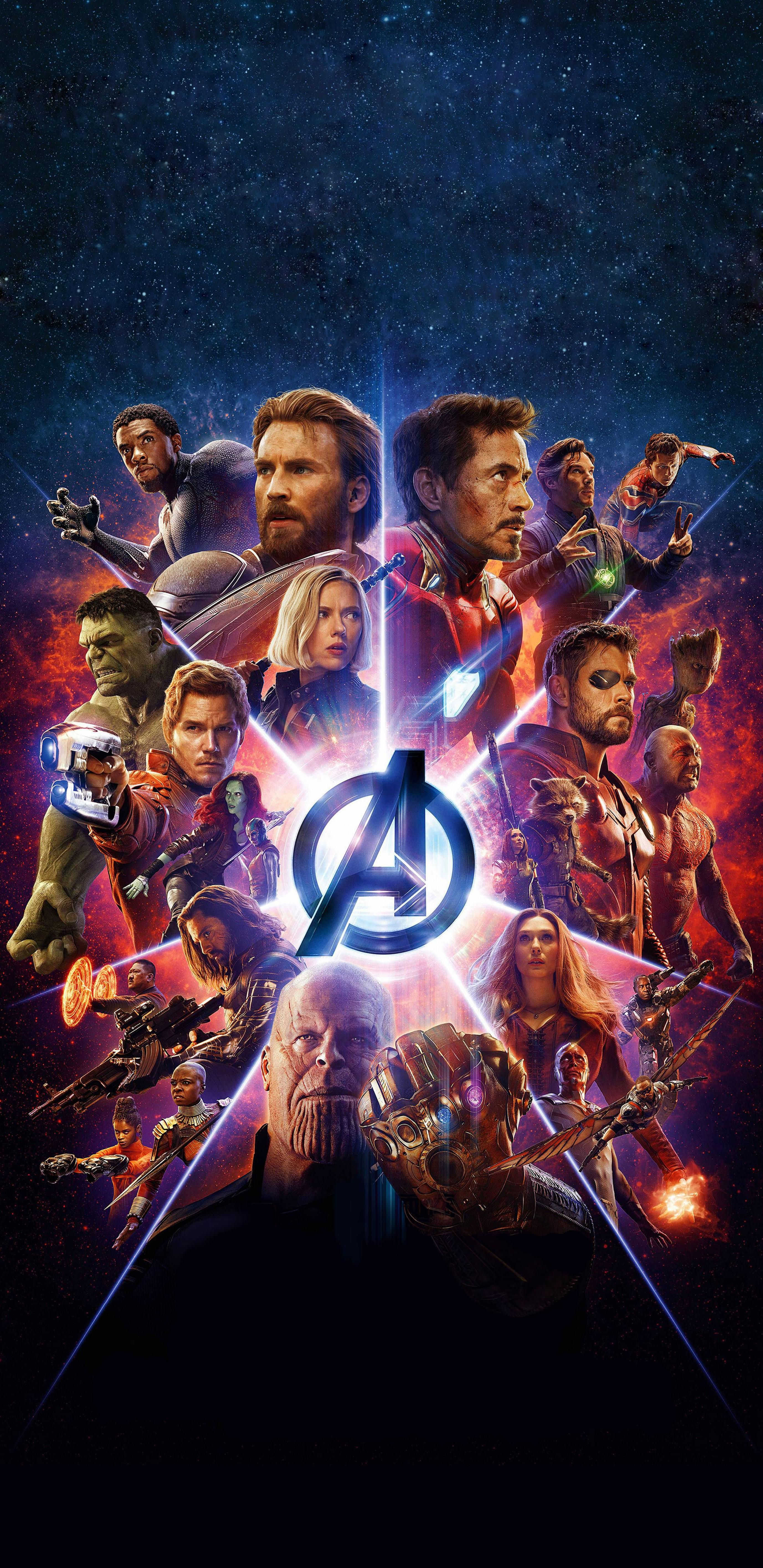 My favorite Avengers Infinity War Poster Optimized for