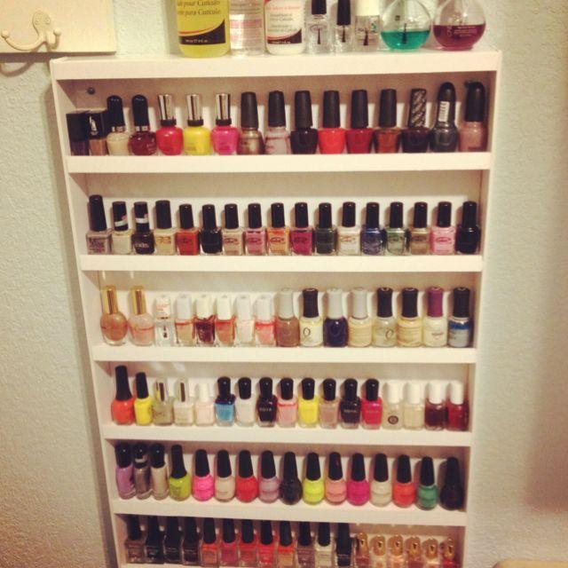 Nail Art Storage Ideas