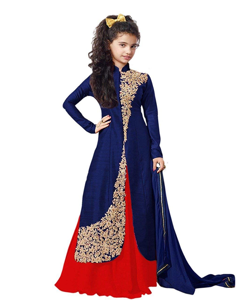492aff24c1a5 Fashion Vogue Baby Girl s Indo Western Gown - Shopping With US