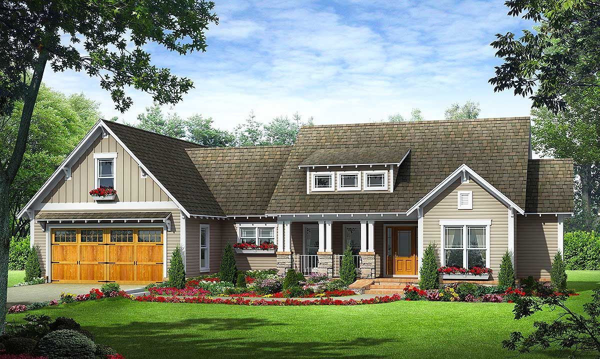Plan 51142MM: Craftsman Cottage with Shed Dormer | Craftsman ... on remodel attic with dormer, ranch house with bay window, ranch house with basement, ranch house with flat roof, shed roof dormer, ranch house with eyebrow, ranch style home with double dormer,