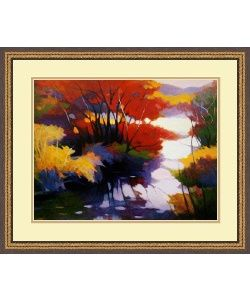 @Overstock - Artist: Tadashi Asoma Title: Indian SummerProduct type: Framed printhttp://www.overstock.com/Home-Garden/Tadashi-Asoma-Indian-Summer-Framed-Art-Print/4039328/product.html?CID=214117 $81.99