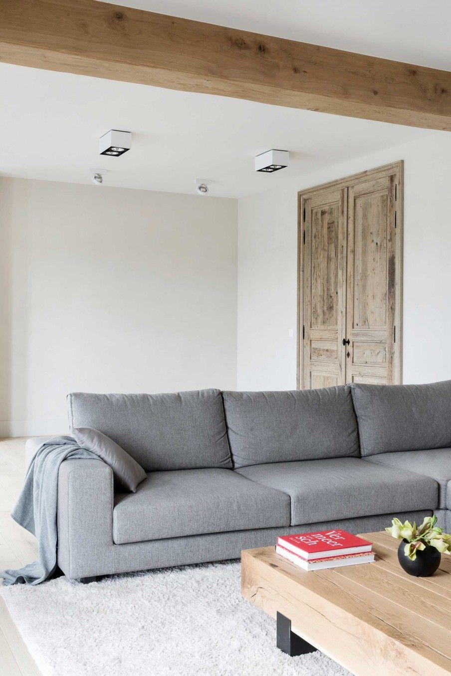 woonkamer-wit-grijs | vt wonen | Pinterest - Woonkamer wit, Grijs en ...