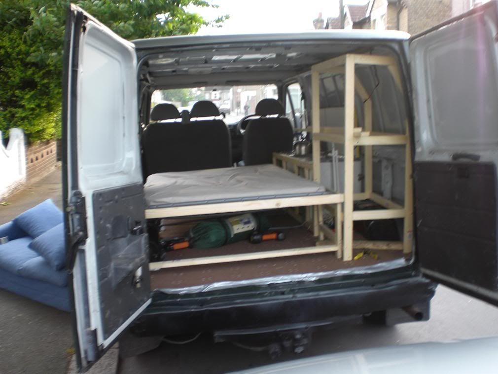 Ford Transit Van Interior Google Search Camping Pinterest Ford Transit Van Interior And