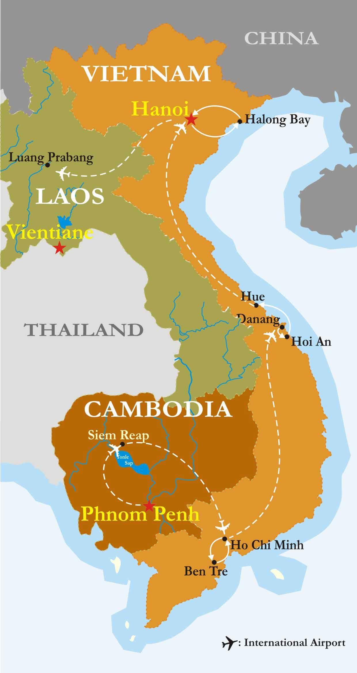 Trails Of Indochina  Cambodia Sample Itinerary  Cambodia