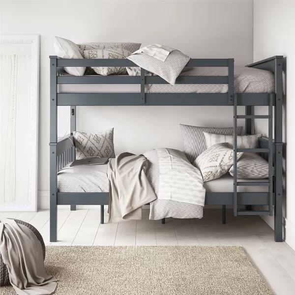Harriet Bee Almedacheatham Full Over Full Bunk Bed Wayfair